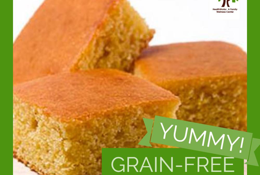 Yummy Grain Free Cornbread