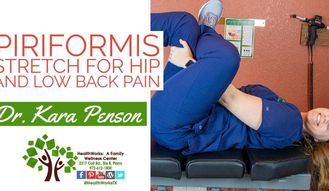 Can Stretching Help Sciatica?  Try This Easy Piriformis Stretch For Hip And Low Back Pain.