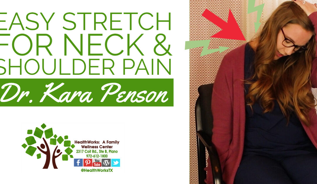 Easy Stretch for Neck and Shoulder Tension