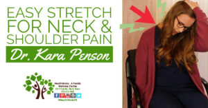 Easy Stretch for Neck and Shoulder Pain