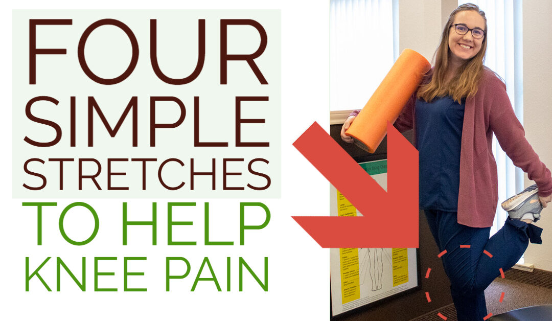 Two Simple Stretches To Help Knee Pain