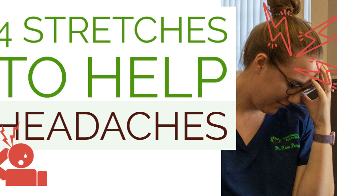 Four easy stretches for headache help