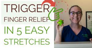 trigger finger relief