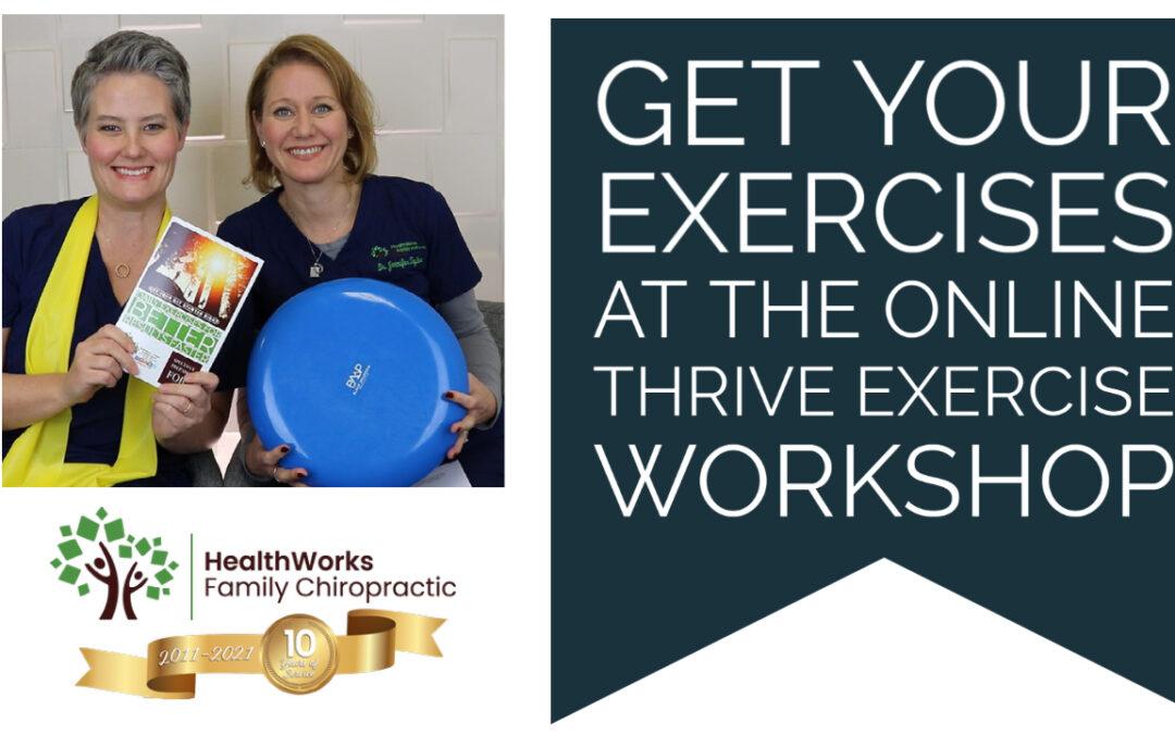 Thrive New Patient Workshop